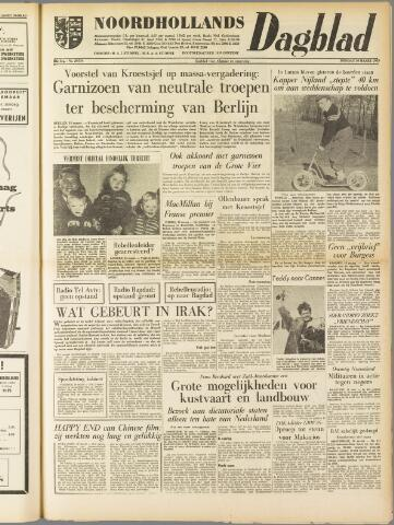 Noordhollands Dagblad : dagblad voor Alkmaar en omgeving 1959-03-10
