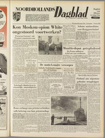 Noordhollands Dagblad : dagblad voor Alkmaar en omgeving 1953-11-18