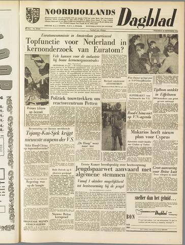 Noordhollands Dagblad : dagblad voor Alkmaar en omgeving 1958-09-24