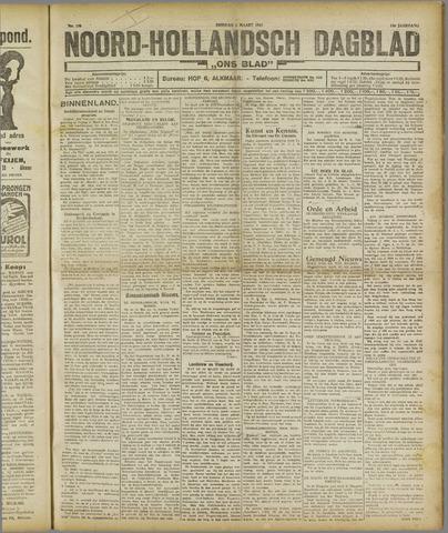 Ons Blad : katholiek nieuwsblad voor N-H 1921-03-08