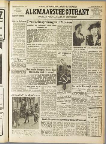 Alkmaarsche Courant 1955-09-16