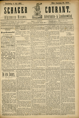 Schager Courant 1895-07-04