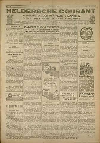 Heldersche Courant 1930-02-22