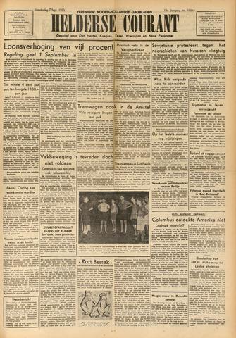Heldersche Courant 1950-09-07