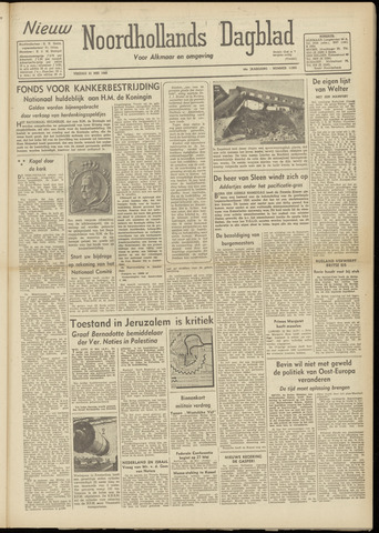 Nieuw Noordhollandsch Dagblad : voor Alkmaar en omgeving 1948-05-21