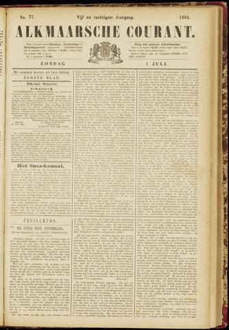 Alkmaarsche Courant 1883-07-01
