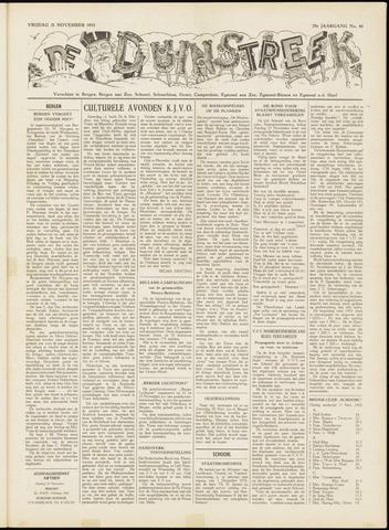 De Duinstreek 1952-11-21