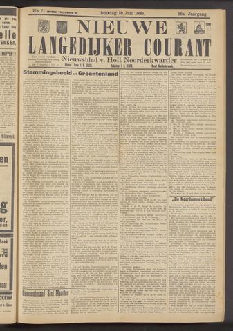 Nieuwe Langedijker Courant 1929-06-18