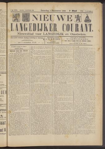 Nieuwe Langedijker Courant 1923-09-01