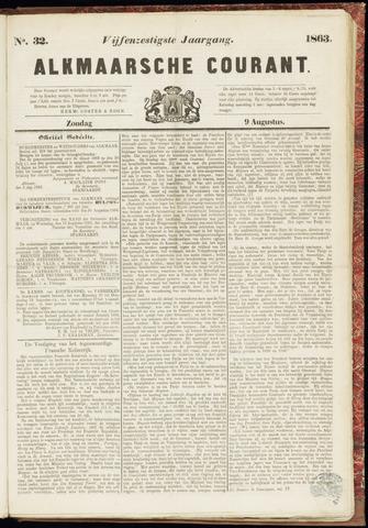 Alkmaarsche Courant 1863-08-09