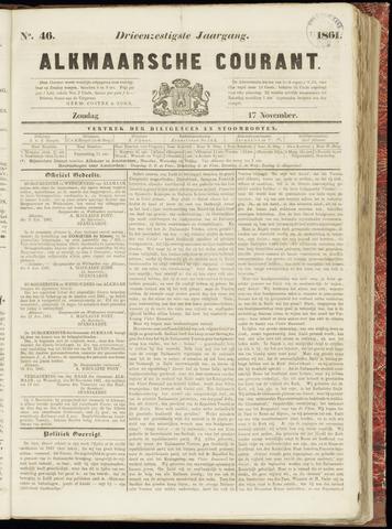 Alkmaarsche Courant 1861-11-17