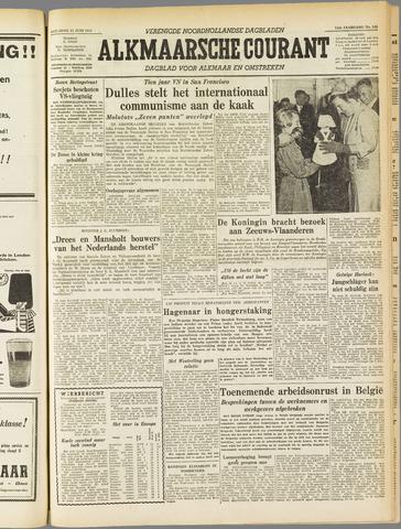 Alkmaarsche Courant 1955-06-25