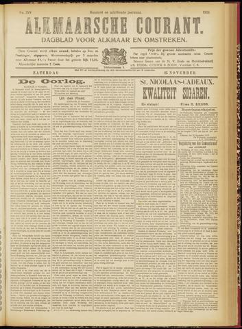 Alkmaarsche Courant 1916-11-25