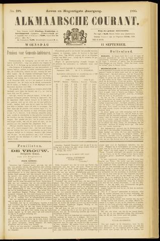 Alkmaarsche Courant 1895-09-11