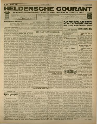 Heldersche Courant 1932-10-01