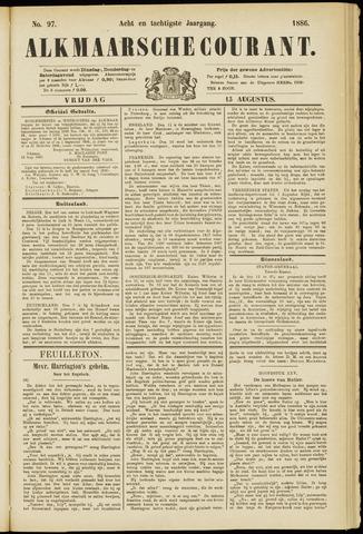 Alkmaarsche Courant 1886-08-13
