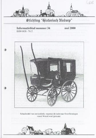 Informatieblad stichting Historisch Niedorp 2000-05-01
