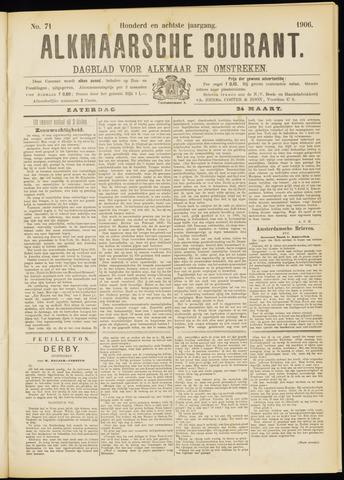 Alkmaarsche Courant 1906-03-24