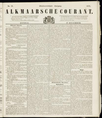 Alkmaarsche Courant 1871-12-17