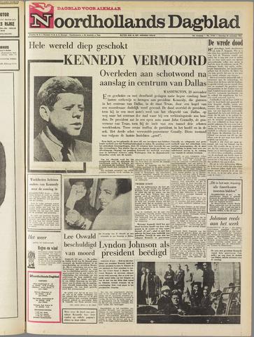 Noordhollands Dagblad : dagblad voor Alkmaar en omgeving 1963-11-23