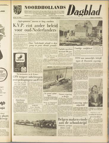 Noordhollands Dagblad : dagblad voor Alkmaar en omgeving 1958-11-07