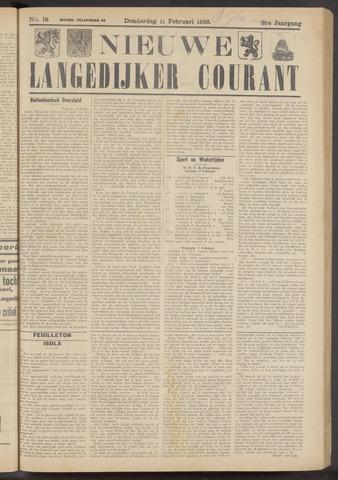 Nieuwe Langedijker Courant 1926-02-11