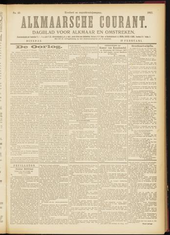 Alkmaarsche Courant 1917-02-27
