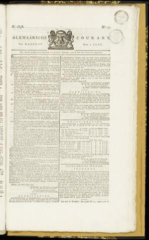 Alkmaarsche Courant 1838-07-02