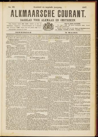 Alkmaarsche Courant 1907-03-14