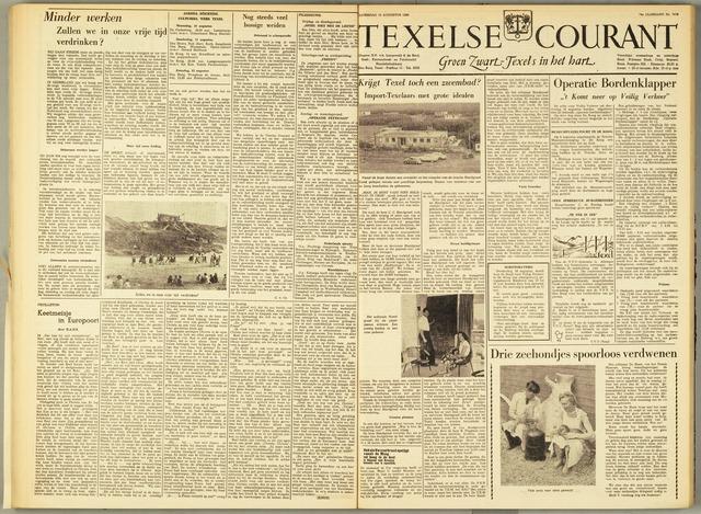 Texelsche Courant 1960-08-13