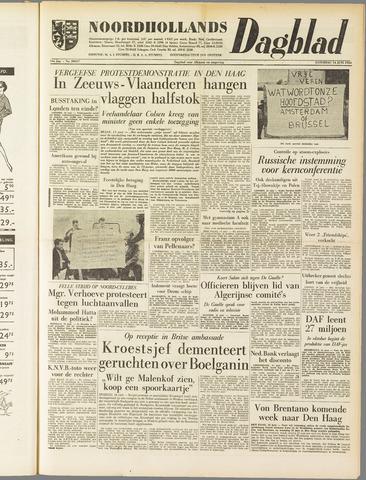 Noordhollands Dagblad : dagblad voor Alkmaar en omgeving 1958-06-14