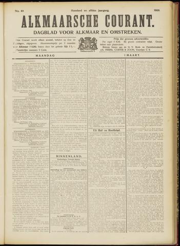 Alkmaarsche Courant 1909-03-01