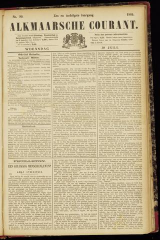 Alkmaarsche Courant 1884-07-30