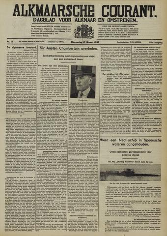 Alkmaarsche Courant 1937-03-17
