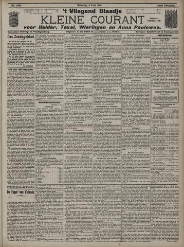 Vliegend blaadje : nieuws- en advertentiebode voor Den Helder 1910-06-04
