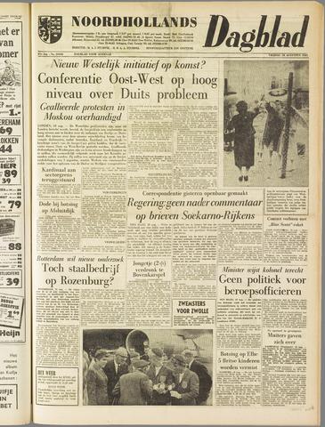 Noordhollands Dagblad : dagblad voor Alkmaar en omgeving 1961-08-18
