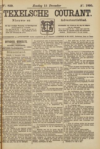 Texelsche Courant 1895-12-15
