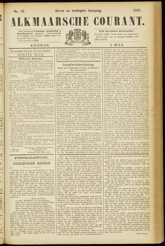 Alkmaarsche Courant 1885-05-03