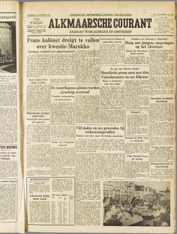 Alkmaarsche Courant 1955-08-08