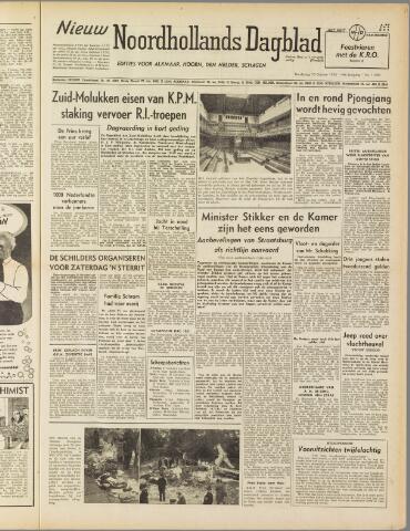 Nieuw Noordhollandsch Dagblad : voor Alkmaar en omgeving 1950-10-19