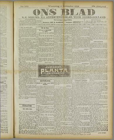 Ons Blad : katholiek nieuwsblad voor N-H 1919-11-05