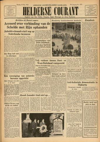 Heldersche Courant 1954-02-23