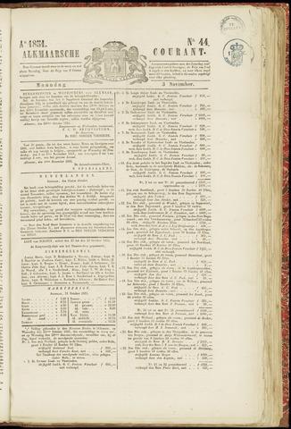 Alkmaarsche Courant 1851-11-03