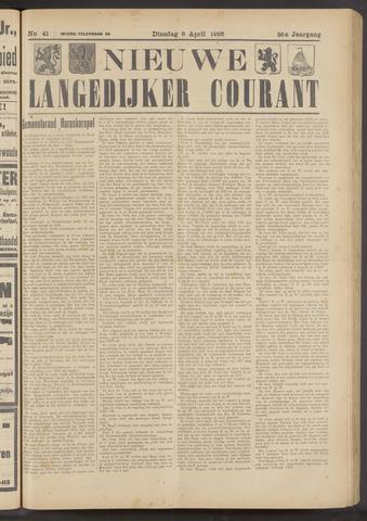 Nieuwe Langedijker Courant 1926-04-06