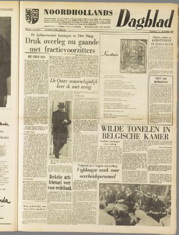 Noordhollands Dagblad : dagblad voor Alkmaar en omgeving 1960-12-24