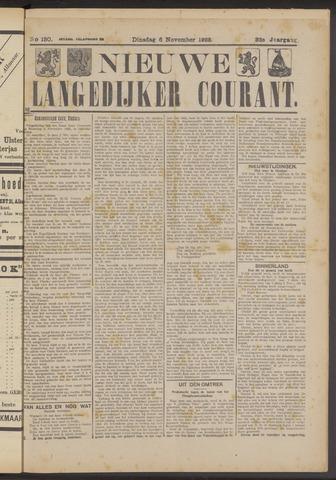 Nieuwe Langedijker Courant 1923-11-06