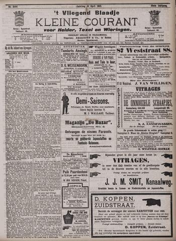 Vliegend blaadje : nieuws- en advertentiebode voor Den Helder 1902-04-19