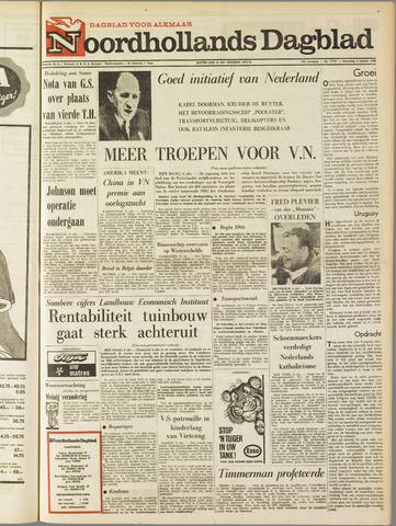 Noordhollands Dagblad : dagblad voor Alkmaar en omgeving 1965-10-06
