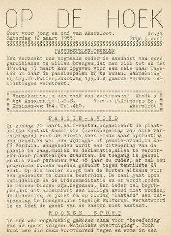 Op De Hoek, weekblad voor Akersloot 1955-03-12