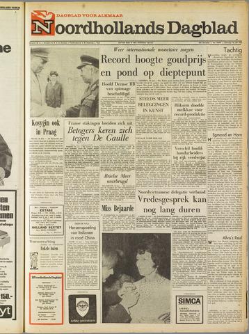 Noordhollands Dagblad : dagblad voor Alkmaar en omgeving 1968-05-18